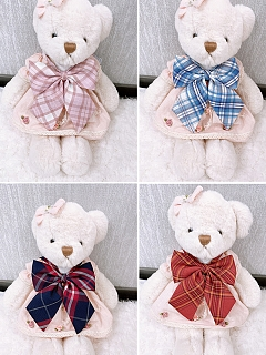 Multicolor Hand-made Bow-tie Matching JK by Pudding Bear