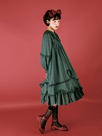 Peter Pan Collar Long Sleeve Loose OP by Crucis Universal Tailor Company