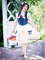 Disney Version Short Puffy Sleeves JSK - Snow White by Infanta