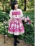 Dolman Sleeve Chinese Button Decorated Triangle Open Lolita OP - The Gorgeous Zither by Souffle Song