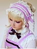 Souffle Song Kitty Courtyard Collection Matching Hairband