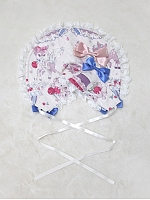 Rose's Valley Sweet Cherry Deer Collection Matching Bonnet