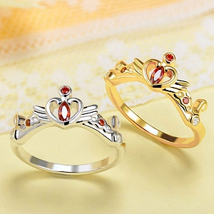 Sailor Moon Princess Serenity Usagi Tsukino Classic Ring