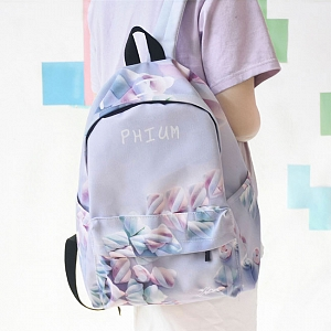 Cotton Candy Printed Backpack