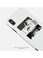 CARECASE and Junji Ito Collaboration Tomie White Phone Case by CARE CASE LIFESTYLE