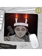 CARECASE and Junji Ito Collaboration Mouse Pad by CARE CASE LIFESTYLE