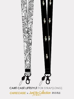 CARECASE and Junji Ito Collaboration Neck Lanyard by CARE CASE LIFESTYLE