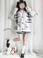 Tiger Cat Cardigan by Catwish
