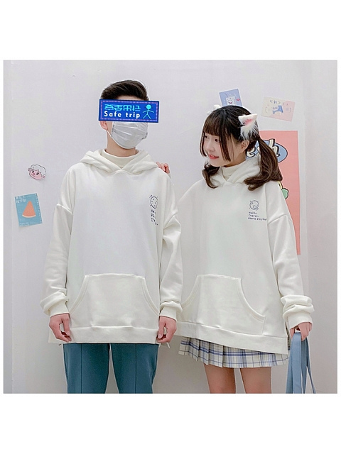 Pluto Printed Couple Version Hoodie by DeerImmort