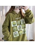 Matcha Lattice Hoodie by DeerImmort