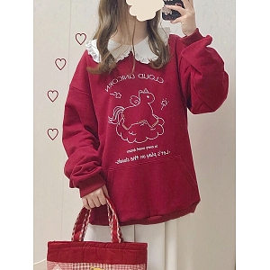 Baby Unicorn Printed Sweatshirt by DeerImmort