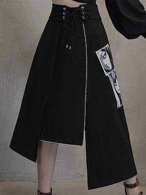 1/3 DELUSION and Junji Ito Collaboration Tomie Skirt by 1/3 DELUSION