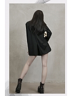 1/3 DELUSION and Junji Ito Collaboration Tomie Suit Coat by 1/3 DELUSION
