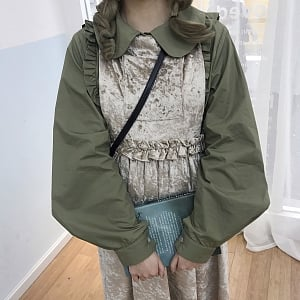 Large Sleeves and Flounces Blouse by ELIM