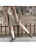 JK Uniform Yellow and Green Check Pleated Japanese Uniform Skirt by ELIM