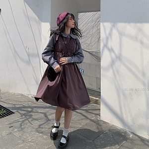 Japanese Style Dress by ELIM