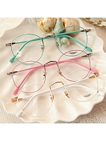 RETRO COLOR ROUND GLASSES