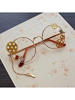 Steampunk Glasses Gear Accessories Vintage Lolita