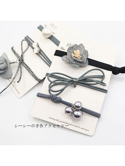 Simple Hair Ring Sets