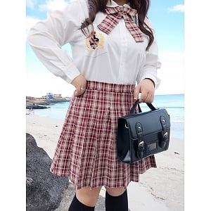 Plus size JK Uniform Set by Hardcandy
