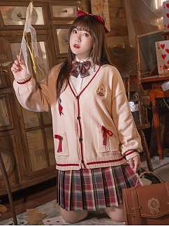 Plus Size Magic Rabbit Series Cardigan by Hard Candy