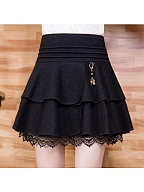 Cake Skirt Lace Bottoming SK