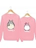 Totoro Couple Wear Thin Sweatshirt