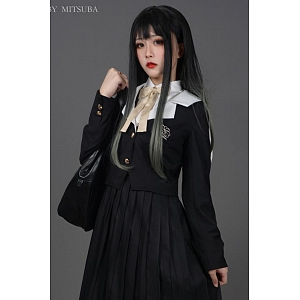 Hibiscus JK Uniform Sailor Collar Blazer by Mitsuba