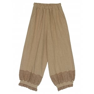 Mori Girl Linen Lantern Pants by Mucha