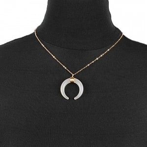Crescent Necklace Six Colors Available