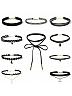 Simple Gothic Choker Sets