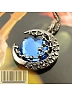 Sweater Chain Blue Moon Neckline