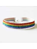 Rainbow Shining Choker