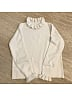 Flounce Neck and Cuffs Sweater by No Worries