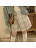 Plaid Skirt by No Worries