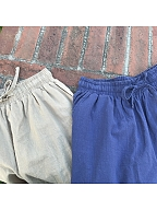 Elastic Waist Shorts by No Worries