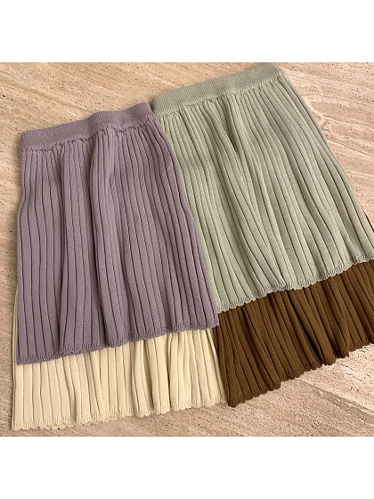 Knit Skirts by No Worries
