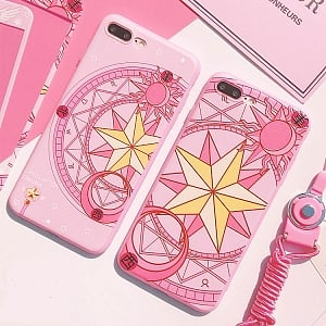 Cardcaptor Sakura Magic circle Phone Case