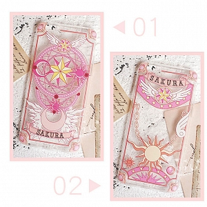 Cardcaptor Sakura Transparent Printed Phone Case