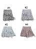 Summer Thin Plaid Pleated SK By Pinksavior