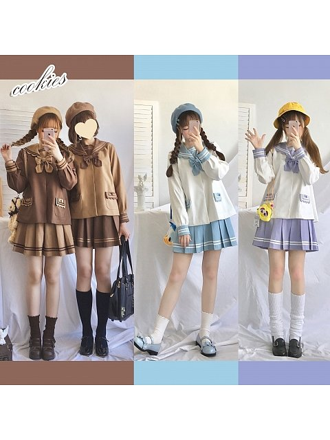 Cookies Sailor Uniform Set by RiceBall