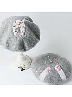 Cute Cat's Paws or Cat's Buttocks Beret