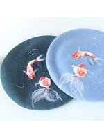 Fish Tank Beret by SOSO