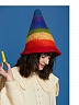 Rainbow Witch Woollen Beret by SOSO