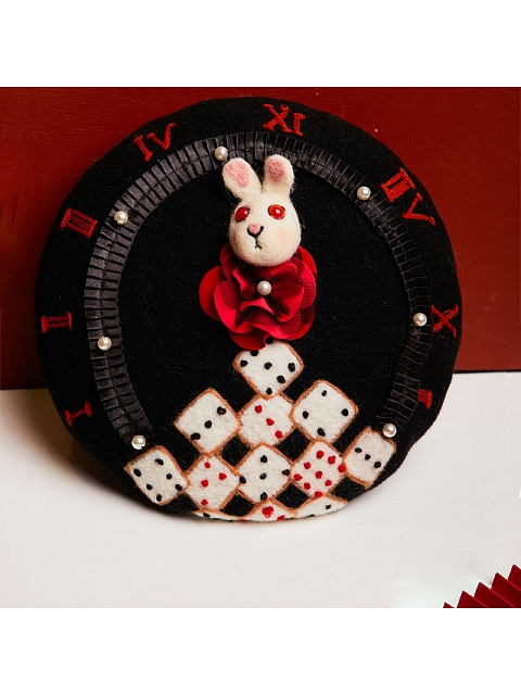 Diamond Poker-Alice Themed Beret by SOSO