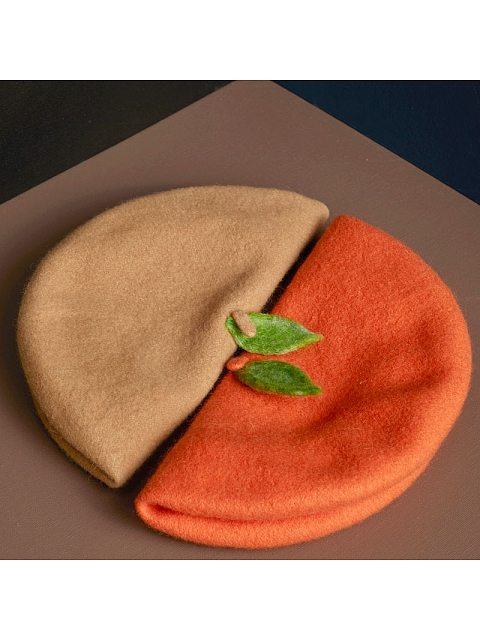 A Leaf Beret by SOSO