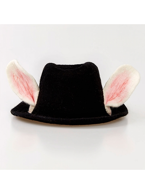 Bunny-Ear Jazz Hat by SOSO