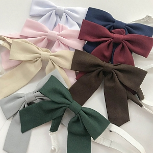 Small Bowknot Pre-tied Sharp Angle Bow Tie