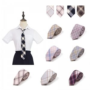 Plaid Self-tie Necktie II