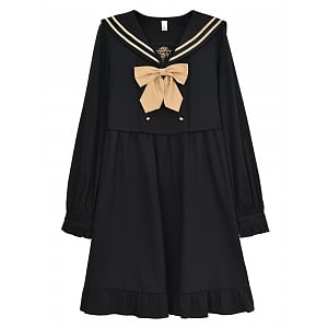 Rose College Fake Two-pieces Sailor Uniform by Mori Tribe